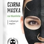 Active charcoal sheet mask DETOX 1szt