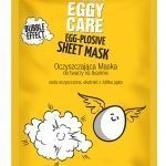Eggy care egg-plosive cleansing sheet mask with bubble effect 1szt